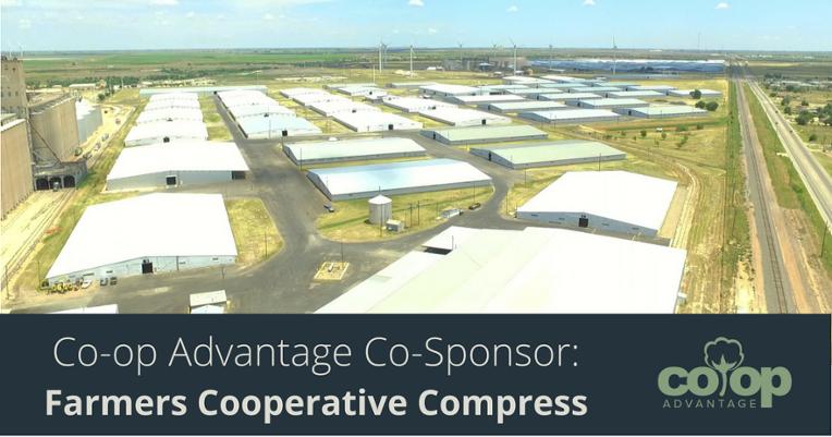 Co-op Advantage Sponsor: Farmers Cooperative Compress