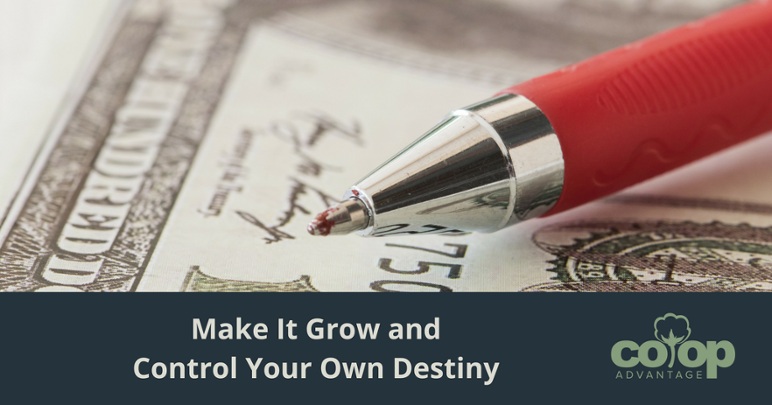 Make It Grow and Control Your Own Destiny