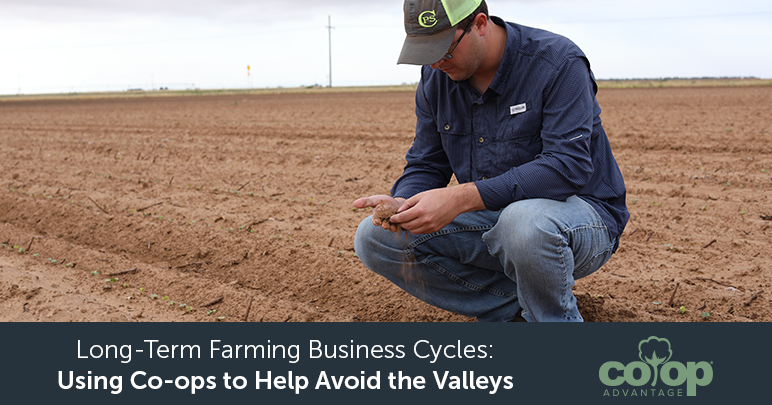 Long-Term Farming Business Cycles: Using Co-ops to Help Avoid the Valleys