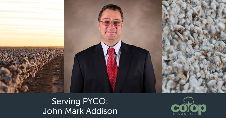 John Mark Addison PYCO Board