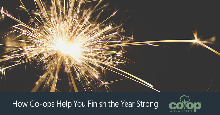 How Co-ops Help You Finish the Year Strong
